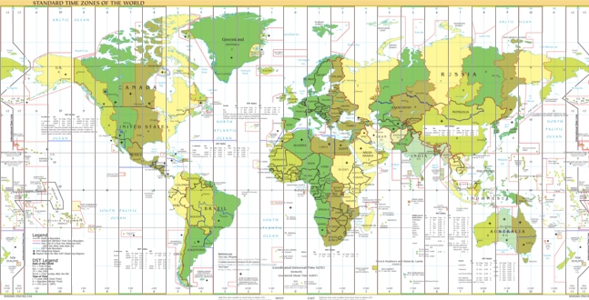 world time zones clock convert time zone World